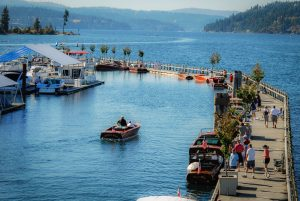 Coeur d' Alene Classic Boat Festival @ Boardwalk of the marina at the Coeur d' Alene Resort | Coeur d'Alene | Idaho | United States