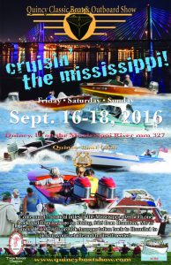 16th Annual Quincy Classic Boat and Outboard Show @ Quincy Boat Club | Quincy | Illinois | United States