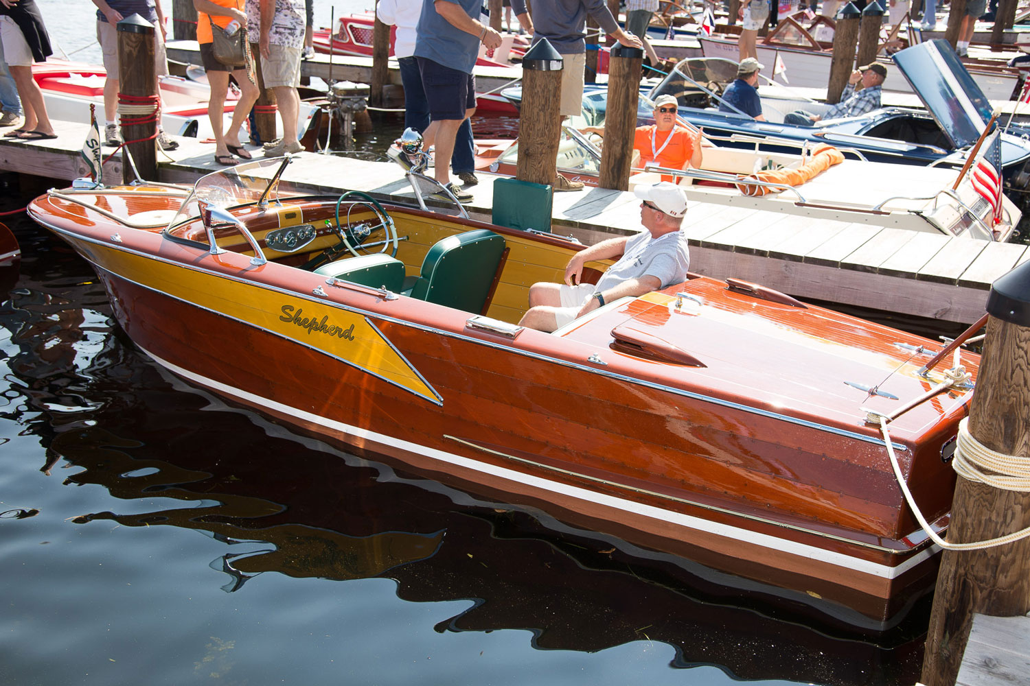 2015 Silver Classic Runabout Restored Acbs Antique