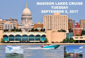 2017 Pre-Events Day 3 Madison Lakes Cruise @ Madison Lakes Cruise | Madison | Wisconsin | United States