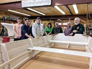 Great Lakes Boat Building School - skiff