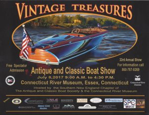 SNEC presents Vintage Treasures at the CT River Museum @ Connecticut River Museum | Essex | Connecticut | United States