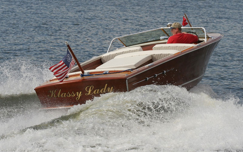 Tuesday Tour of Vintage Boats 10 17 17 - ACBS - Antique Boats