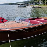 1947 Chris Craft Deluxe Runabout 17'