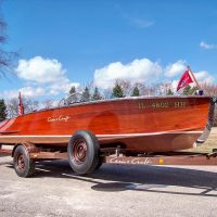 1950 Chris Craft Racing Runabout 19' - One of One