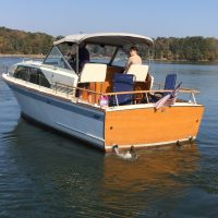 1963 Chris Craft Constallation Cruiser 30'
