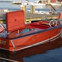 1948 Chris-Craft Deluxe 17 Runabout-restored